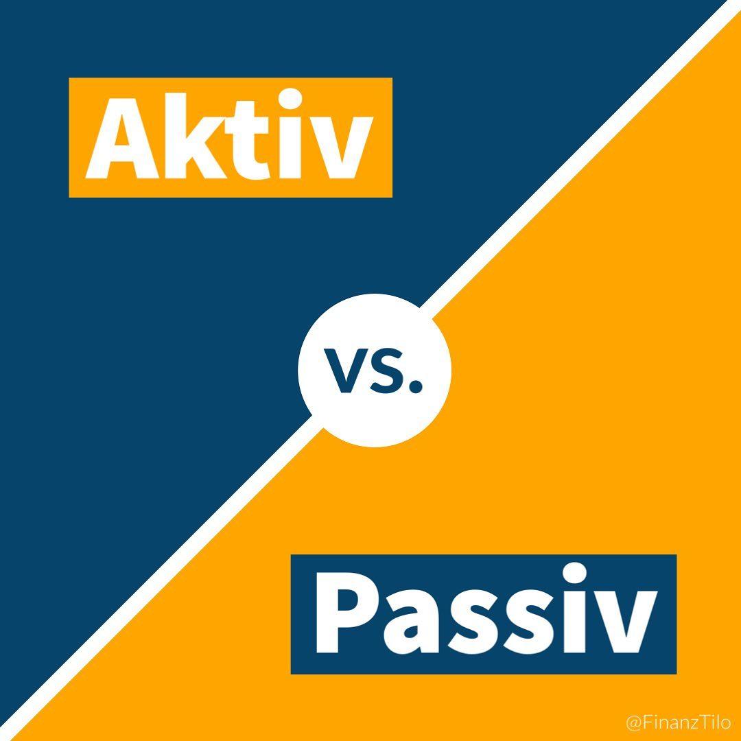#AktivesInvestieren vs. #PassivesInvestieren Die Frage, ob es besser ist aktiv oder passiv sein Geld zu…