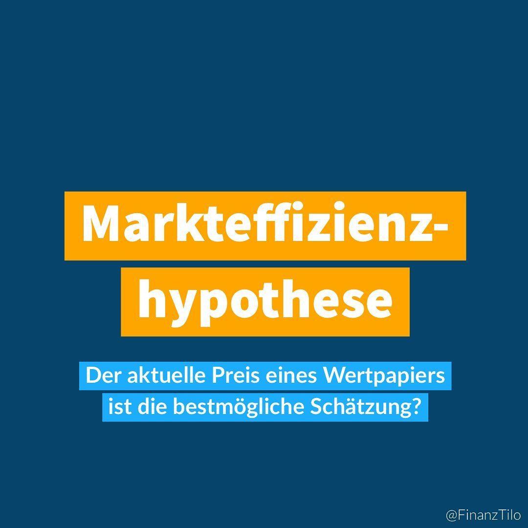 """Die """"Markteffizienzhypothese"""" oder """"Markteffizienztheorie""""/""""Efficient-Market-Theorie (EMT)"""" bzw. """"Efficient Markets Hypothesis"""" (EMH) beschreibt ganz simpel, dass Wertpapierpreise…"""